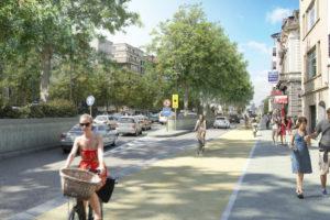 """Bruxelles, un """"piccolo anello"""" ciclabile per cambiare la città"""