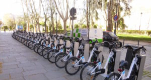 Bike sharing a Madrid