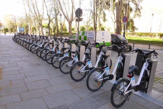 Bike sharing a Madrid