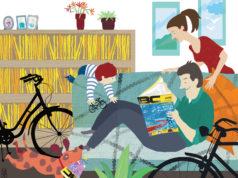coronavirus e bici - divano