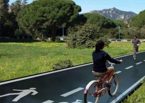 Ciclabili solari in crowdfunding: pannelli fotovoltaici al posto dell'asfalto
