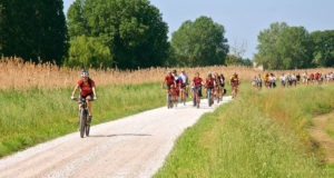 In bici nella Laguna Veneta