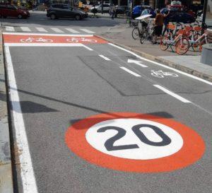 La Fase 2 di Torino: 50 km di controviali ciclabili a 20 all'ora