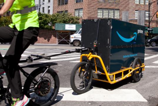 e-commerce a pedali