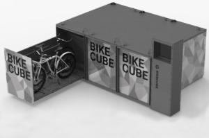 Ecco Bikecube, il sistema sicuro e smart per la custodia delle biciclette