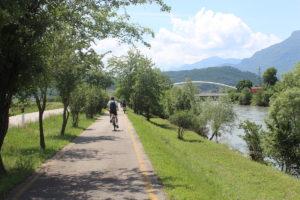 Vallagarina: in bici tra arte e natura lungo la via Claudia Augusta
