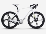 E-bike in carbonio