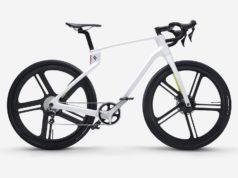 E-bike in carbonio