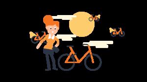 Bike sharing in Italia triplicato in cinque anni. Anche per il lockdown