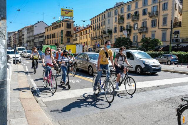 Ciclabile di corso Buenos Aires