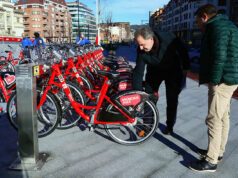 bike sharing a Bilbao