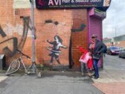 Bansky e la bici