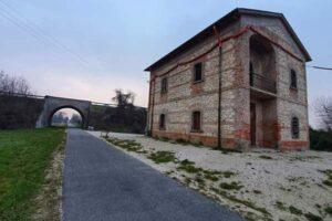 Treviso-Ostiglia: apre l'hub Fiab dentro l'ex casello a Grisignano di Zocco