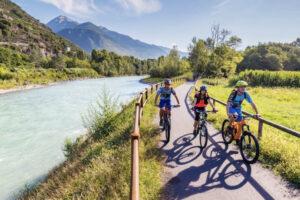 Valtellina in bici: con Jonas, lungo l'Adda, tra vigneti e castelli