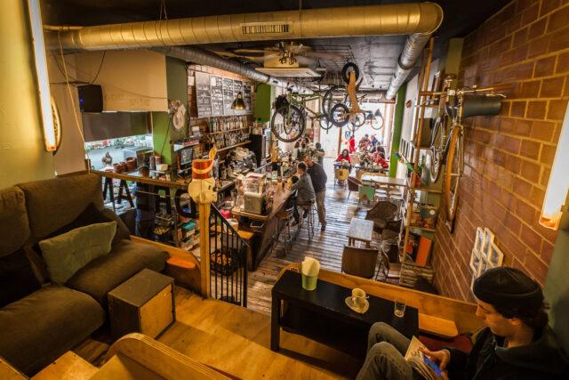 Bike cafè