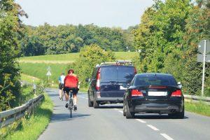 Sicurezza in bici, in Scozia campagna con un agente in borghese