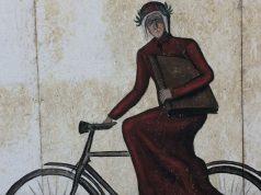 Dante in bicicletta
